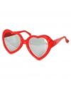 Zomerse hartjes zonnebril voor kids